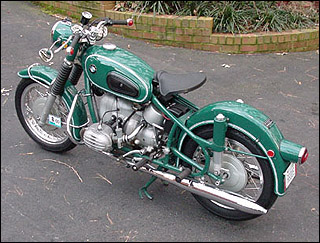 This bike belongs to Tom Bridgers, a very well known restorer and a stickler for detail.